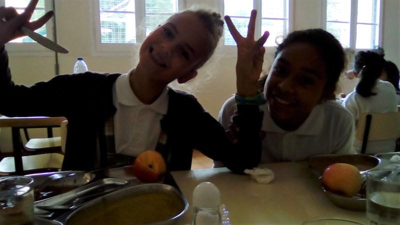warme lunch op school