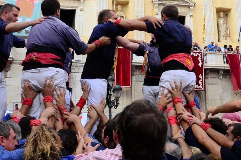 Santa Tecla Tarragona | menselijke torens | Castellers Tarragona | Castells torres i pilars Tarragona
