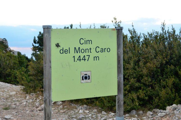 Mont Caro Els Ports BDT reistip