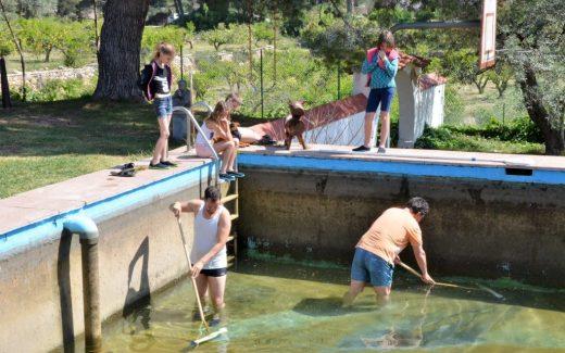 BDT Over leven in Spanje blog Operatie schoon zwembad