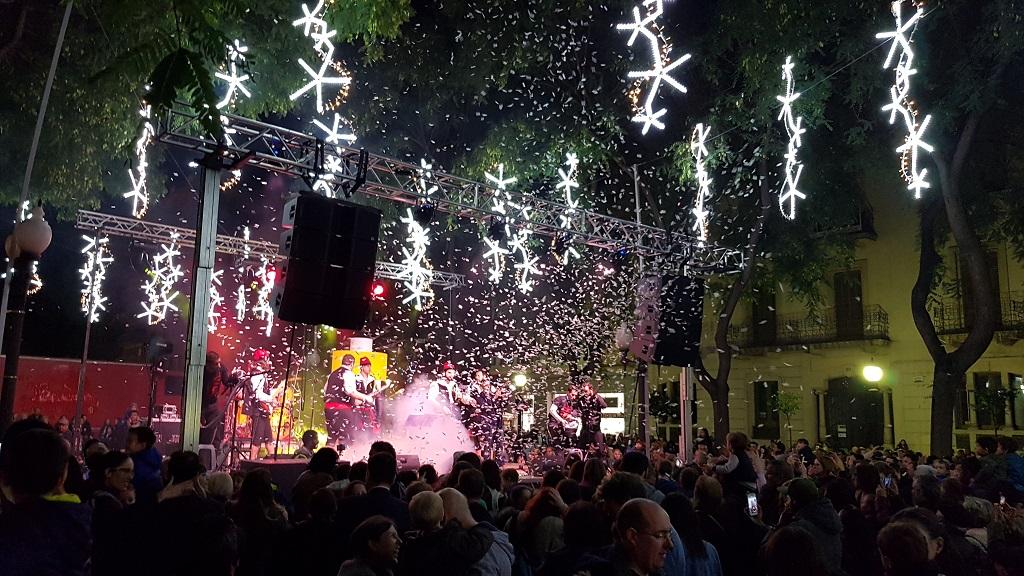 Kerst In Tarragona Kerstverlichting Rambla Nova Tarragona