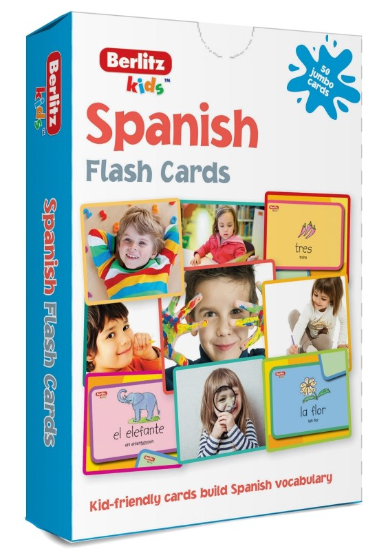 Spaans leren voor kinderen flashcards