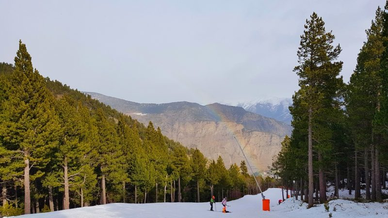 Skien skigebied Espot Esqui Skien Catalaanse Pyreneeen