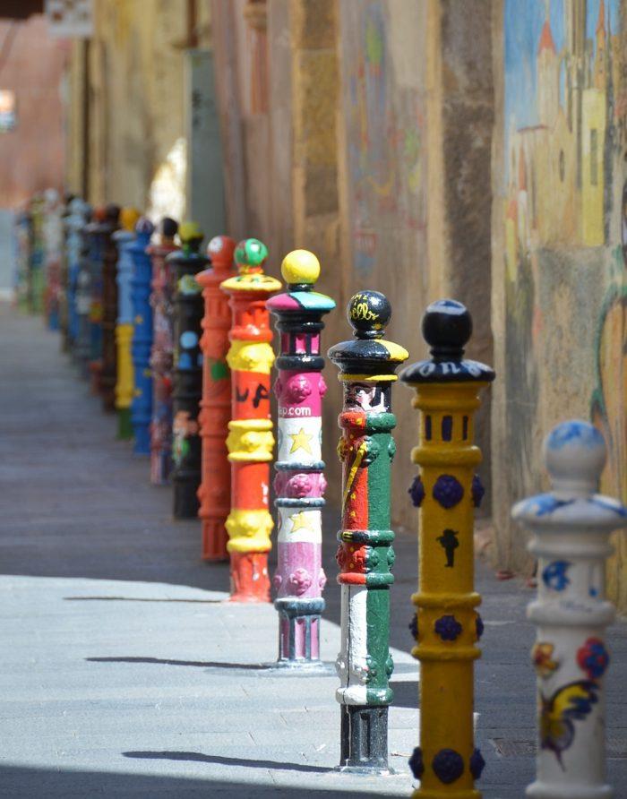 Pilons street Tarragona