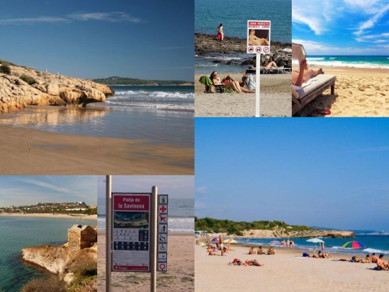 Naaktstrand Tarragona