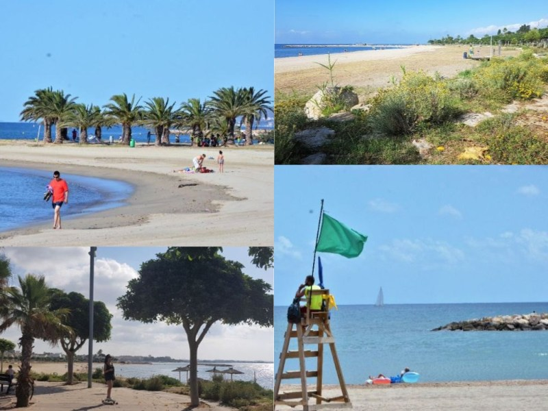 Natuurstrand Playa La Llosa in Cambrils