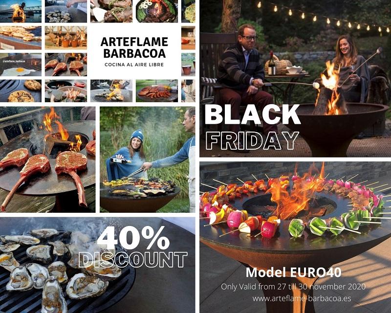 Black Friday Arteflame EURO 40