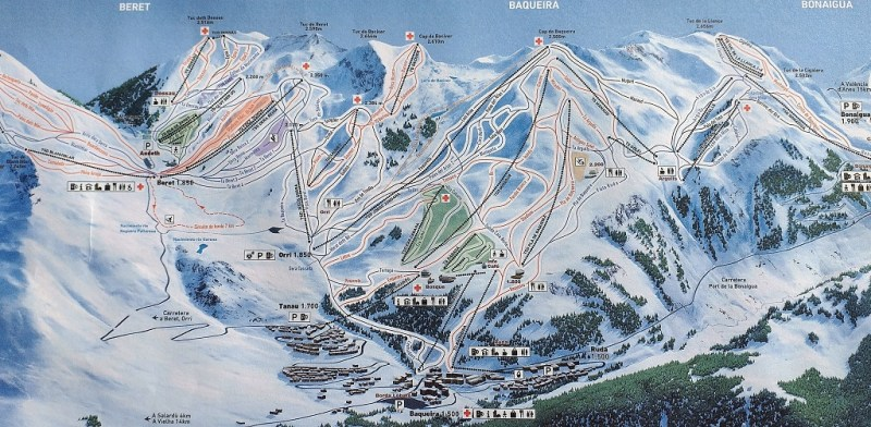 Wintersport Baqueira Beret | skigebied Baqueira Beret | wintersport Catalaanse Pyreneeen | skien Catalonië