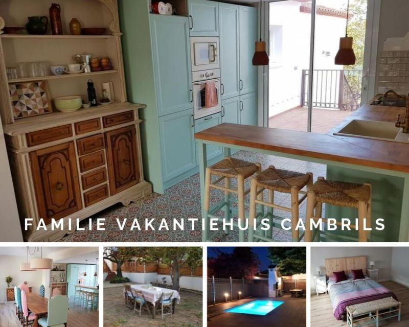 Knus familie vakantiehuis Cambrils