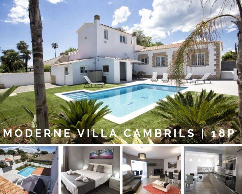 moderne familie villa Cambrils