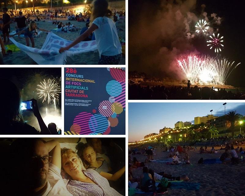 Vuurwerk Festival in Tarragona