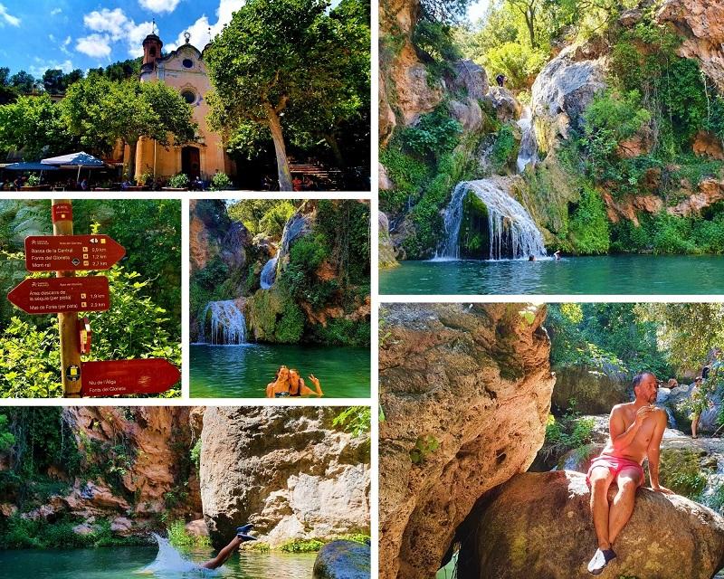 Waterval Riu de Glorietta Alcover