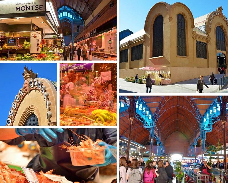 De gemeentelijke Markt in Tarragona