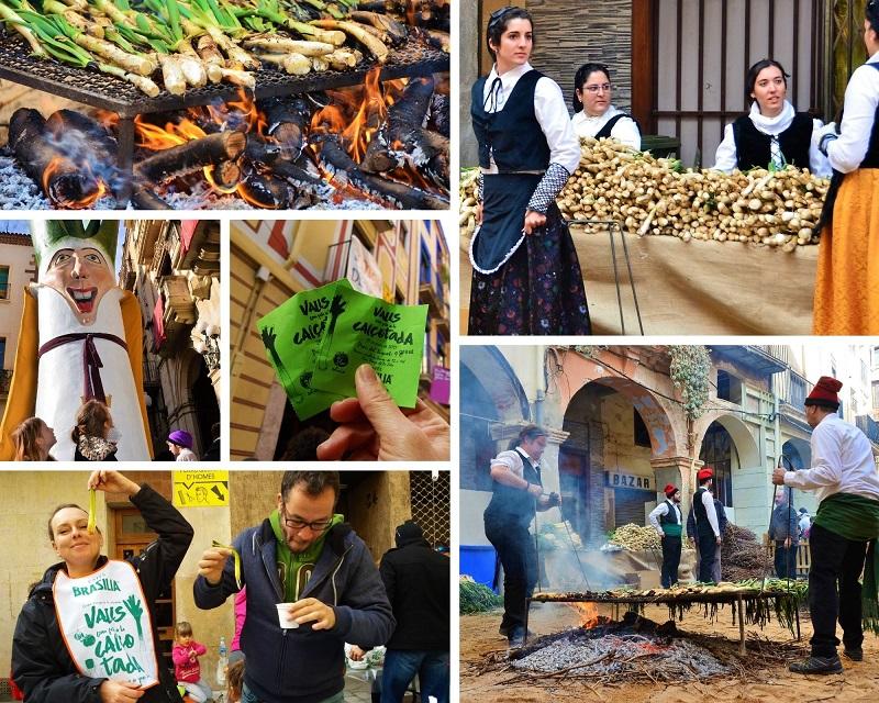 Calcot Festival in Valls