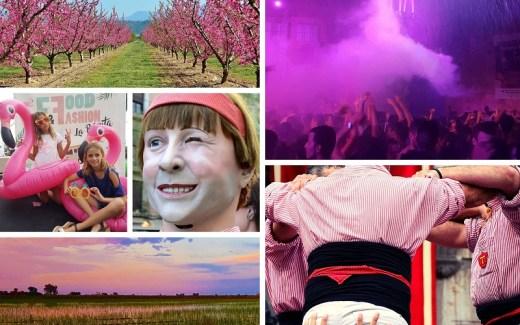 Roze reisfoto's Tarragona | Pink Travel Pics Tarragona