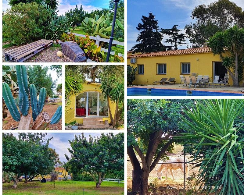 Familie vakantiehuis met zwembad Cambrils