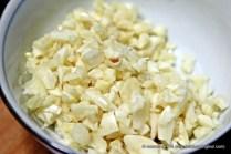 Chopped Garlic.