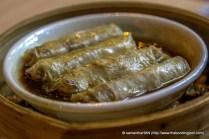 Fu Chok - Meat wrapped in Soy Bean Skin.