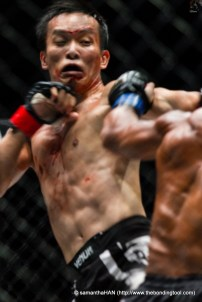 Melvin Yeoh was defeated in round 3 (5 minutes) by A. J. Lias Mansor.