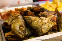 Fried Fish Head and Fillets