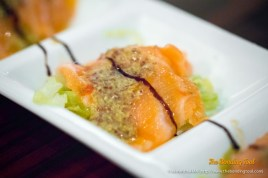 Salmon with Cabbage (savoy?)