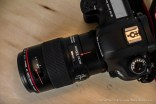 Set the lens to 1:1 on macro lens.
