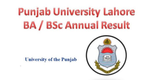 PU Lahore B.A / B.Sc Annual Result 2017