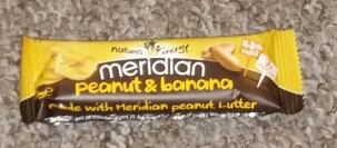 Meridian Peanut and Banana Bar