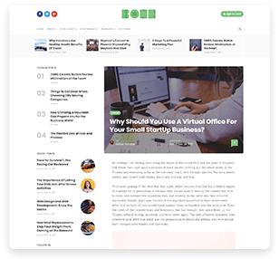 Bone - Minimal & Clean WordPress Blog Theme - 11