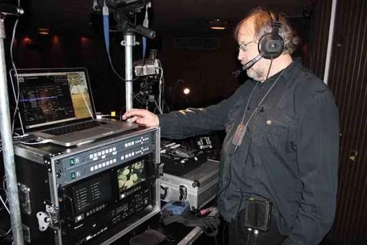 Paul James working