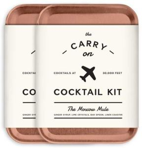 Carry on Moscow mule cocktail kit