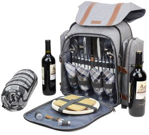 Picnic Backpack with all the supplies