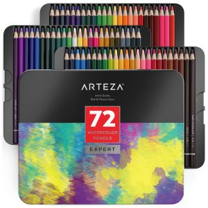 72 Arteza Watercolor pencils