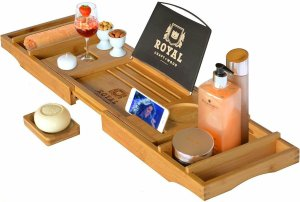 Luxury Bathtub Caddy Quality Time Love Language Gifts