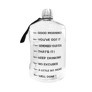 Motivational Water Bottle for Words of Affirmation Love Language