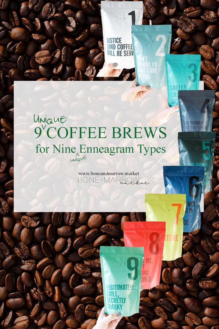 9 Unique Coffee Brews for 9 Unique Enneagram Types