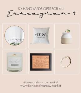 Enneagram 9 Handmade Gifts