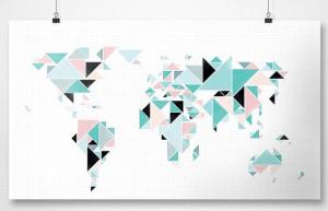 Awesome Maps: Minimalist Map