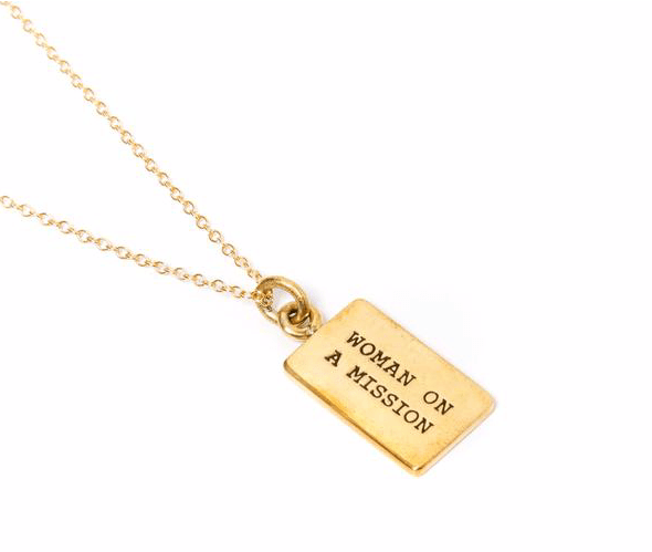 Woman on a Mission Necklace by FEED