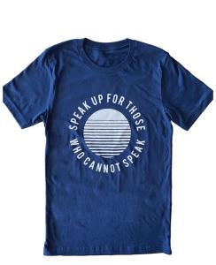 Speak Up T Shirt