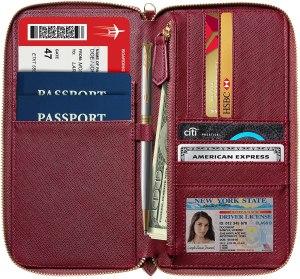 RFID Passport Wallet Case