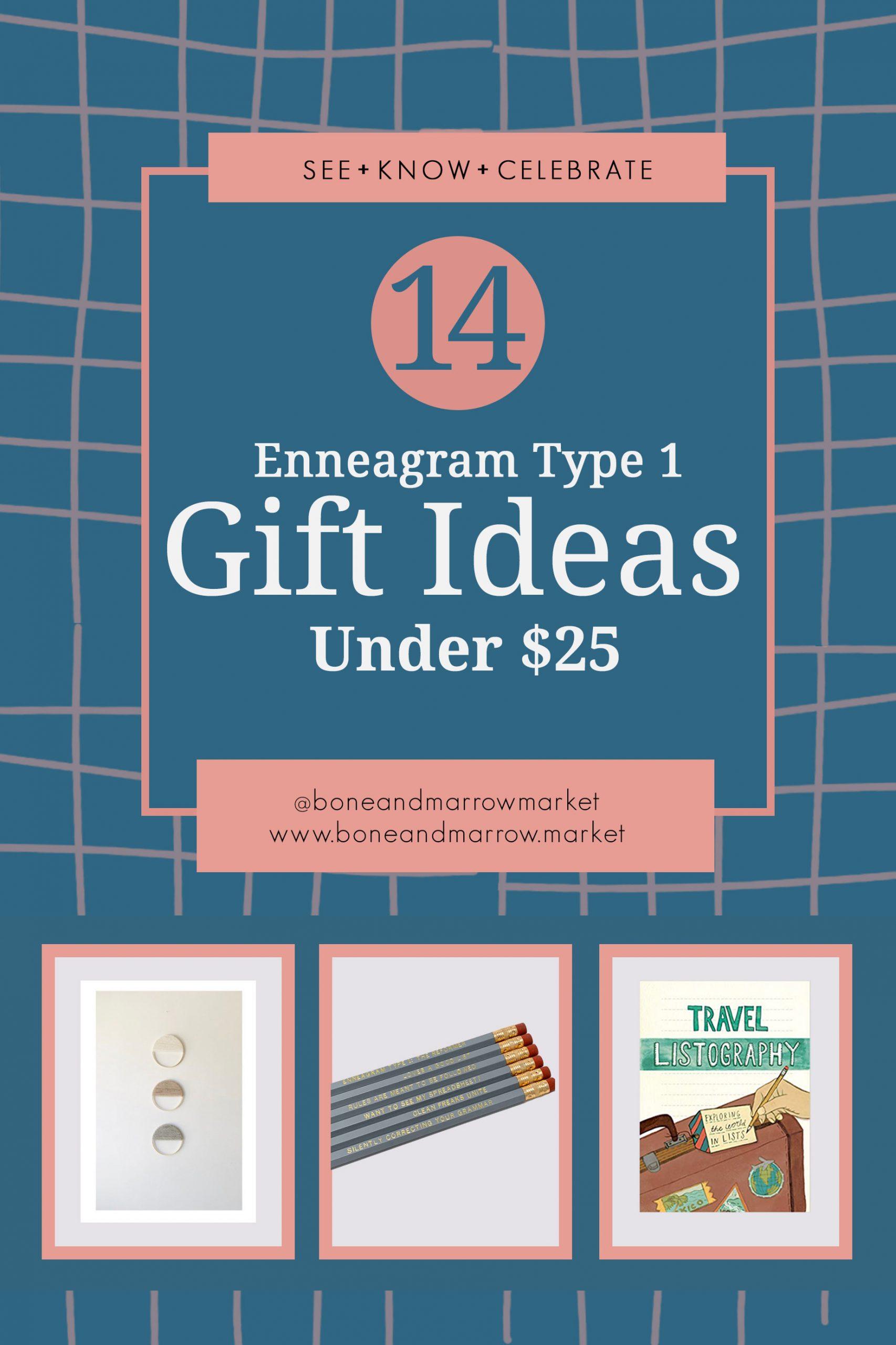Enneagram Type 1 Gifts Ideas Under $25