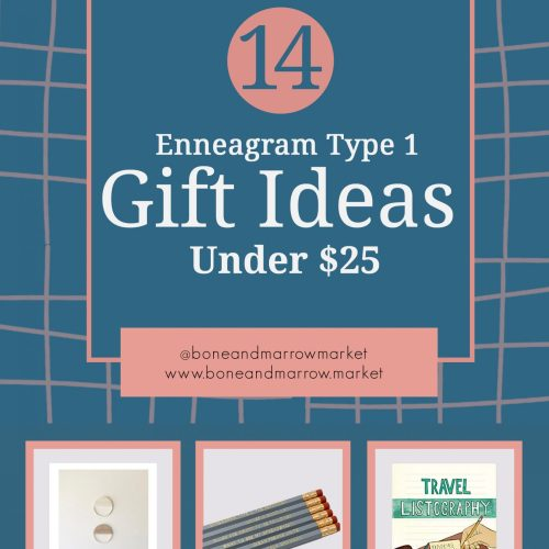 Enneagram Type 1 Gifts Ideas Under $25