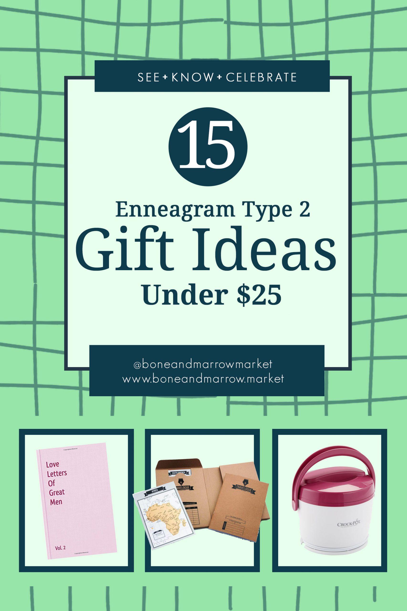 Enneagram Type 2 Gifts Ideas Under $25