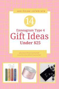 Enneagram Type 4 Gifts Ideas Under $25