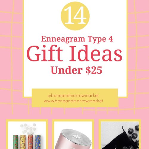 Enneagram Type 4 Gifts Ideas Under $25
