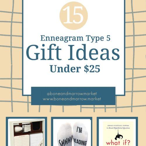 Enneagram Type 5 Gifts Ideas Under $25