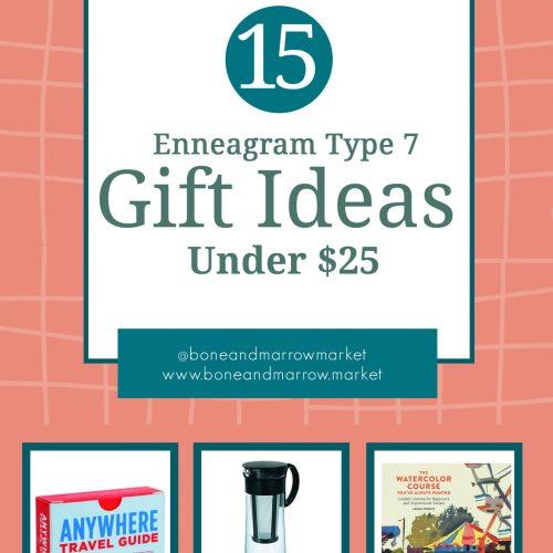 Enneagram Type 7 Gifts Under $25