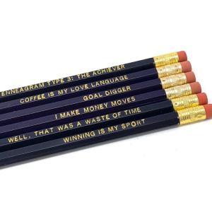 Enneagram 3 Pencils