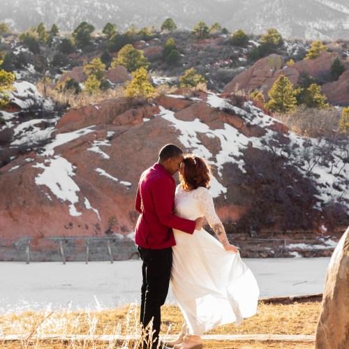 Amanda and Marquis Wedding Photo